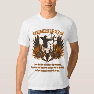 Genesis 27:3 tee shirt
