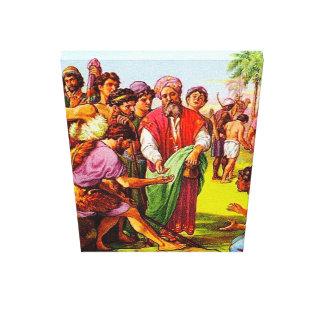 Genesis 37 Joseph's Brothers Sell Him Canvas