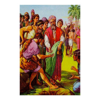 Genesis 37 Joseph's Brothers Sell Him poster