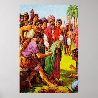 Genesis 37 Joseph's Brothers Sell Him poster