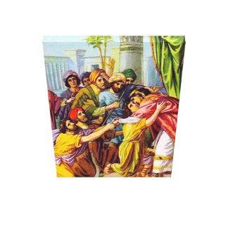 Genesis 45 Joseph Tells Who He Is canvas