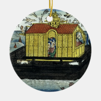 Genesis 6:11-24 Noah's Ark, from the Nuremberg Bib Ceramic Ornament