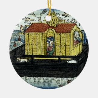 Genesis 6:11-24 Noah's Ark, from the Nuremberg Bib Ceramic Ornament