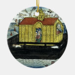 Genesis 6:11-24 Noah's Ark, from the Nuremberg Bib Christmas Tree Ornaments