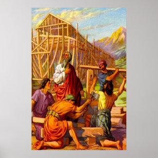 Genesis 6 Noah Builds the Ark poster