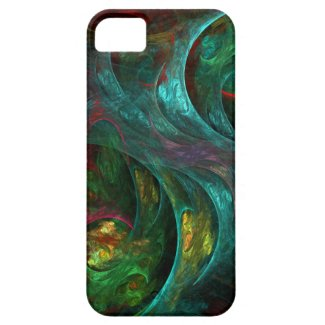 Genesis Abstract Art iPhone 5 Iphone 5 Case