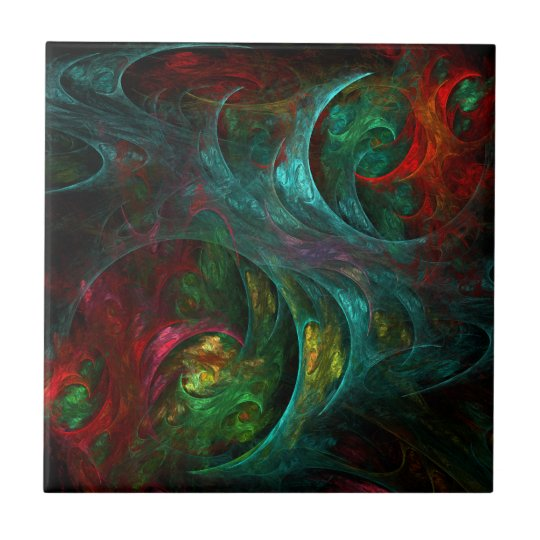 Genesis Abstract Art Tile