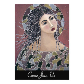 Genesis Angel Any Occasion 5x7 Paper Invitation Card