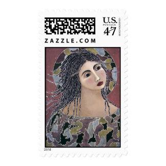 Genesis Angel Postage Stamp