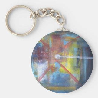 Genesis Basic Round Button Keychain