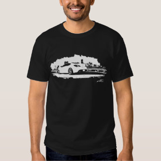 Genesis Coupe black and white graphics Tee Shirt