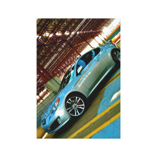 Genesis Coupe Canvas Wall Art Gallery Wrapped Canvas
