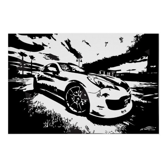 Genesis Coupe Poster