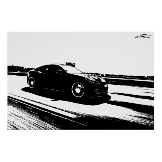Genesis Coupe rolling shot Poster