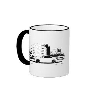 Genesis Coupe rolling shot Ringer Mug