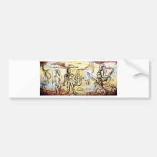 Genesis - Custom Print! Bumper Sticker
