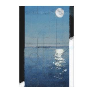 Genesis Day 2: Waters 2014 digital painting Canvas Print