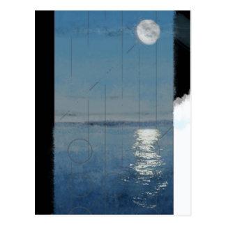 Genesis Day 2: Waters 2014 digital painting Postcard