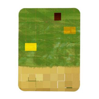 Genesis Day 3: Vegetation 2014 Magnet