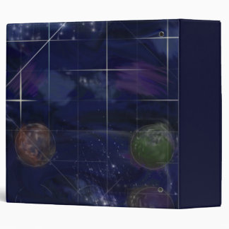 Genesis Day 4: Stars 2014 3 Ring Binder