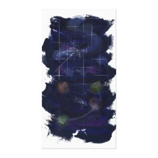Genesis Day 4: Stars 2014 Canvas Print