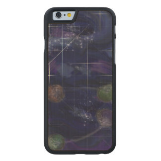 Genesis Day 4: Stars 2014 Carved® Maple iPhone 6 Case