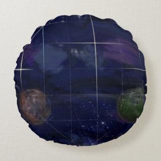 Genesis Day 4: Stars 2014 Round Pillow