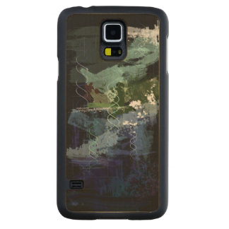 Genesis Day 5: Creatures Carved Maple Galaxy S5 Case