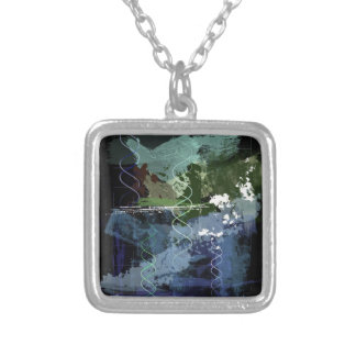 Genesis Day 5: Creatures Silver Plated Necklace