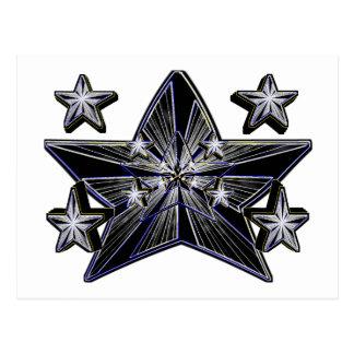 Génesis de la estrella (concepto artístico estupen postal