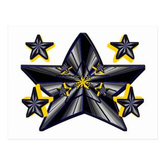 Génesis de la estrella (concepto artístico postal