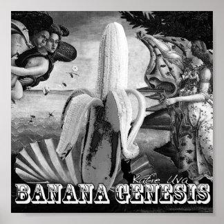 Génesis del plátano posters