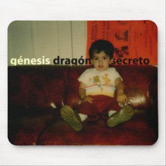 Genesis - Dragon Secreto Album Cover Mouse Pad