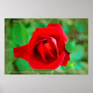Genesis Flower 17 Posters
