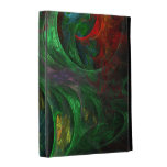 Genesis Green Abstract Art iPad Cases
