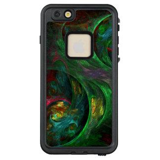 Genesis Green Abstract Art LifeProof® FRĒ® iPhone 6/6s Plus Case
