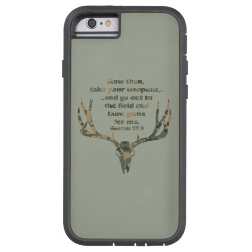 Genesis Hunting Quote iPhone case