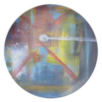 Genesis Melamine Plate