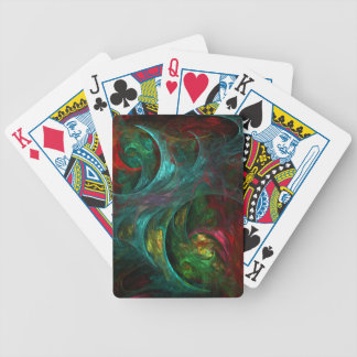 Genesis Nova Abstract Art Bicycle Playing Cards