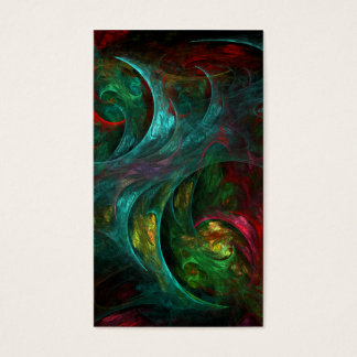 Genesis Nova Abstract Art Business Card