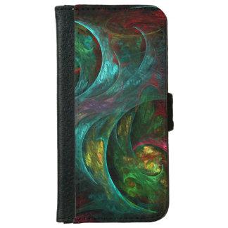 Genesis Nova Abstract Art iPhone 6/6s Wallet Case