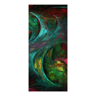 Genesis Nova Abstract Art Rack Card