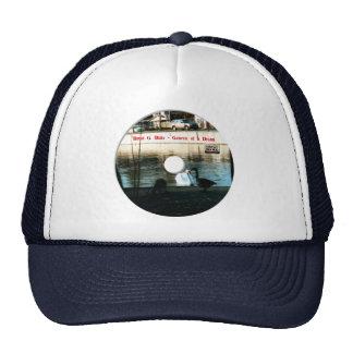 genesis of a dream disk trucker hat