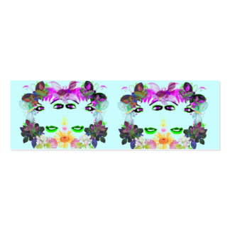 Genesis Profile Card Double-Sided Mini Business Cards (Pack Of 20)