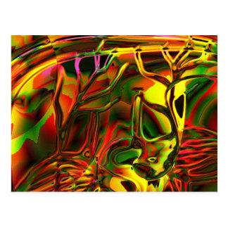 Genesis trance postcard