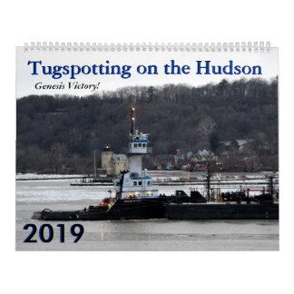 Genesis Victory 2019 tugboat calendar