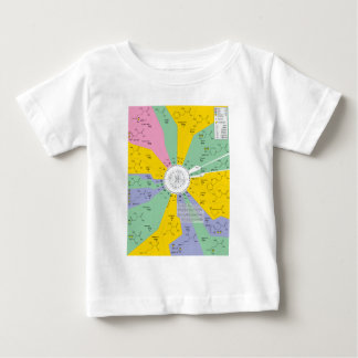 Genetic Code Diagram Showing Amino Acid Residues Baby T-Shirt