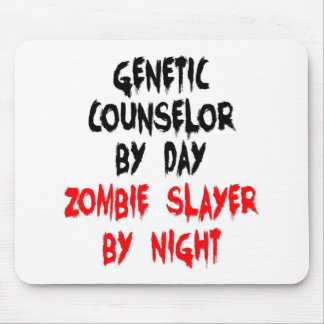 Genetic Counselor Zombie Slayer Mouse Pad