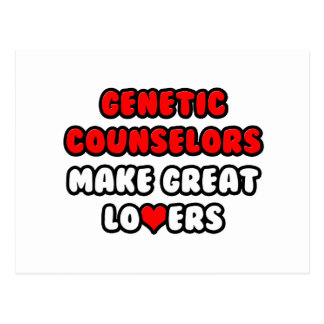 Genetic Counselors Make Great Lovers Postcard