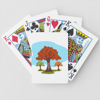 Genetic DNA Family History Tree Roots Bicycle Playing Cards